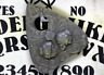 Planchette with Two Faced Victorian Design, For Use With Ouija Board