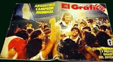 MARADONA -SOCCER WORLD CUP 1979 Argentina Youngs Champion - El Grafico Magazine