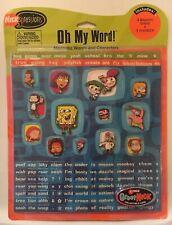 Nick Jr. Early 2000's Magnet Cartoon Word Set Spongebob Fairly Odd Rugrats