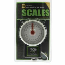 Fishing Scales 50lb by 8oz with Tape Measure for Carp Coarse Sea Fishing