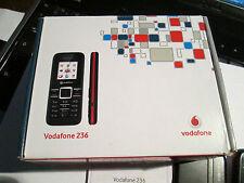 Vodafone 236 OVP simfrei NERO parte di carico operatore QUADERNO SUPER OK Gebr 46 W