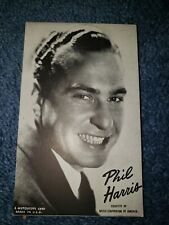 Phil Harris 1940's-50's Mutoscope Music Corp of America Postcard