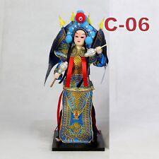 C-06 China Peking Oper chinesisch Puppe Figur Seide 31 cm Neu Geschenkidee OVP