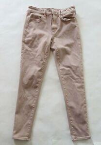 American Eagle Womens Super Stretch X Hi Rise Blush Pink Skinny Jegging Jeans 6