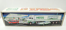 Hess 18 Wheeler and Racer Battery Operated Toys