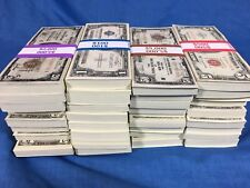 SILVER CERTIFICATE HOARD SALE CIRCULATED U.S. PAPER MONEY NOTE LOT ESTATE