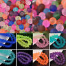 4/6/8/10mm Faceted Jelly Like Rondelle/Round Charms Crystal Glass Loose Beads