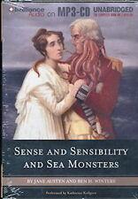 Audio book - Sense & Sensibility& Sea Monster/Jane Austen& Ben H. Winters  MP3