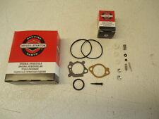 NEW Genuine OEM Briggs & Stratton Carb Carburetor Repair Rebuild Kit 498260
