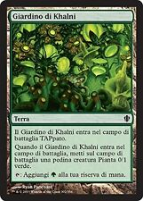 4x Giardino di Khalni - Khalni Garden MTG MAGIC C13 Commander 2013 It