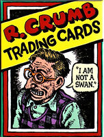R. CRUMB CHARACTER TRADING CARDS - 36 CARDS BOXED SET - NEW EDITION!