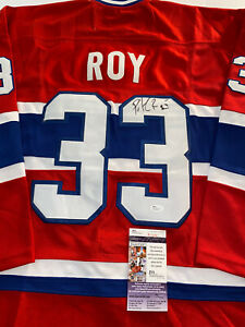 Patrick Roy Signed Jersey Jsa COA Montreal Canadiens Autographed