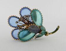 Vintage LISNER Flower Pin Brooch