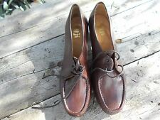 CHAUSSURE VINTAGE TTBE SUJI CUIR COLLECTOR T 43 A 25€ ACH IMM FP RED MOND RELAY