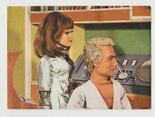Original 1967 Spanish Gerry Anderson Thunderbirds Stamp #12 Jeff Tracy & Tin-Tin