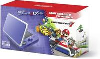New Nintendo 2DS XL - Purple + Silver With Mario Kart 7 Pre-installed