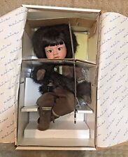 Danbury Mint - Miska Boy Eskimo Doll By Patricia Wall - Brand New In Box