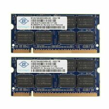 For Nanya 4GB 2X2GB DDR2-800Mhz PC2-6400 1.8V CL6 200-Pin Laptop Memory RHN02