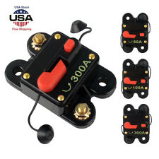 DC12V 60A-300A AMP Car Audio Solar Energy Inline Circuit Breaker Fuse Holder New