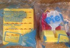 McDonald's Happy Meal 2018 Hasbro #3 Pie Face! & #4 Guess Who? Toys Lot of 2 NEW