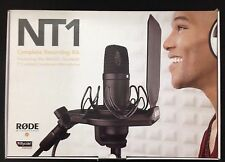 Rode NT1 Cardioid Condenser Microphone Kit Mint - ORIG PKG - FAST SHIP! NT1-KIT