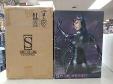 SIDESHOW Premium Format CATWOMAN Figure STATUE #80 UNDISPLAYED w/Shipper BATMAN