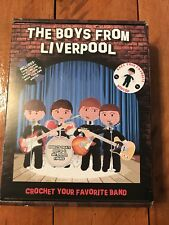 Beatles The Boys From Liverpool Crochet Cross Stitch Embroidery Kit New In Box