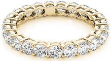 Eternity Band G-Vs/Si1, 18 x 0.20 ct 3.62 ct Round Diamond ring 18K Yellow Gold