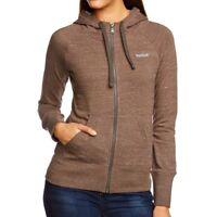 Reebok Womens EL FT Full Zip Hoodie Jacket Casual Fitness Free Tracked Post