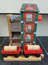 Wooden Railway SODOR PAINT COMPANY Thomas & Friends RARE Wooden Train Track