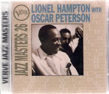 Lionel Hampton With Oscar Peterson Verve Jazz Masters 26 UK CD