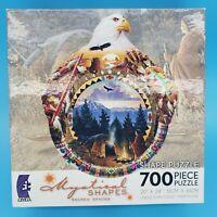 Mystical Shapes Sacred Spaces LODGE OF THE ANCESTORS 700 Shape Piece Puzzle 12+