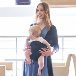 Baby Sling Cotton Adjustable Wrap Carrier Infant Breastfeeding Pouch Newborn