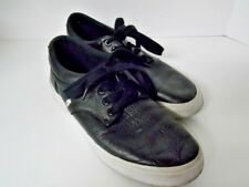 Polo Ralph Lauren Felton Men's Black Sneakers Excellent Used Condition