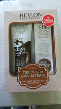 SHAMPOO+CREMA RAVVIVA COLOR REVLONISSIMO 45DAYS DUO PACK 513 marrone profondo