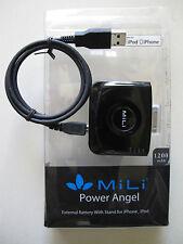 Batterie de secours et support MiLi de 1200 mAh pour iPod 4 ou iPhone 3 et 4