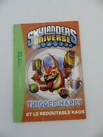Livre n°2 Spyro TRIGGER HAPPY et KAOS bibliothèque verte vers. FRANCAISE