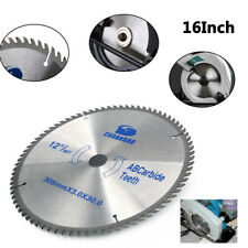 16 Inch Cutting Disc Circular Saw Blade For Cutting Wood Aluminum Tool 60Teeth