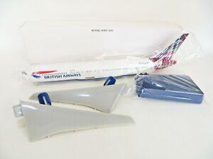'BOEING 767-300 BRITISH AIRWAYS, SCOTLAND' SNAP FIT KIT/DESK MODEL. NEW