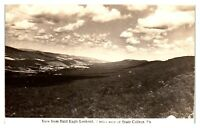 RPPC View from Bald Eagle Lookout near State College, PA Postcard *5N(3)33