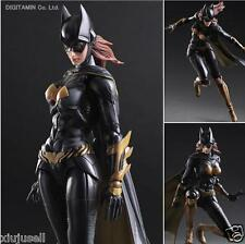 "DC Comics Batman Arkham Knight Play Arts Kai Batgirl 10"" PVC Action Figure Toys"