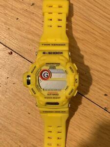 Casio G-SHOCK RISEMAN G-9200 new old stock - Rare Yellow color
