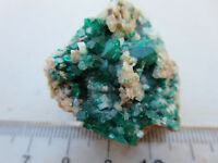 136  DIOPTASE SPECIMEN FROM CONGO, AFRICA.  FROM CLOSED OLD TIME ROCK SHOP