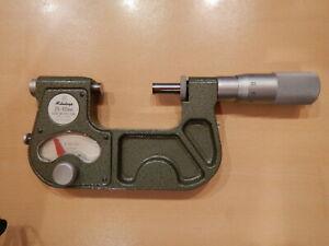 Mitutoyo Model No.510-102R Indicating Micrometer, 25-50mm Range, 0.001mm N.R.