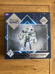 DOCTOR WHO: THE CYBERMEN Special Anniversary Edition Jigsaw Puzzle (500 Piece)