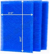 RayAir Supply 20x20 Air Ranger Air Filter Replacement Filter Pads (3 Pack)