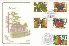 (12444) GB Cotswold FDC Autumn Stourhead House Stourton 1993