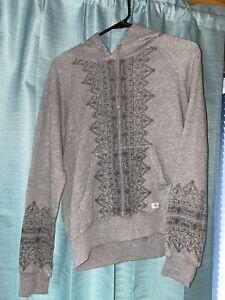 Billabong Womens Pullover Hooded Sweatshirt Size Juniors Large