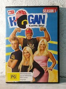 HOGAN KNOWS BEST : 1 DVD (Region 4)  WWE WRESTLING - MTV HULK HOGAN REALITY T.V