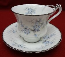 PARAGON china BRIDES CHOICE pattern CUP and SAUCER Set - 3""